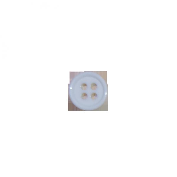 weißer Wäscheknopf