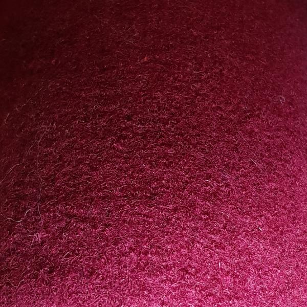 Walkloden, Schurwolle, aubergine