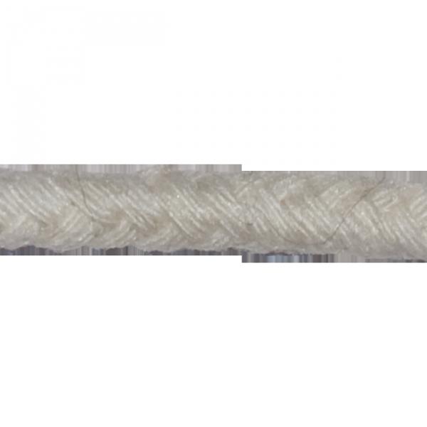 Kordel, Baumwolle, 5 mm, creme