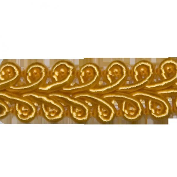 Posamentenborte, gold