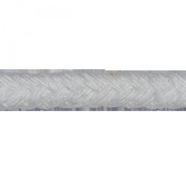 Kordel, Baumwolle, 5 mm, weiß