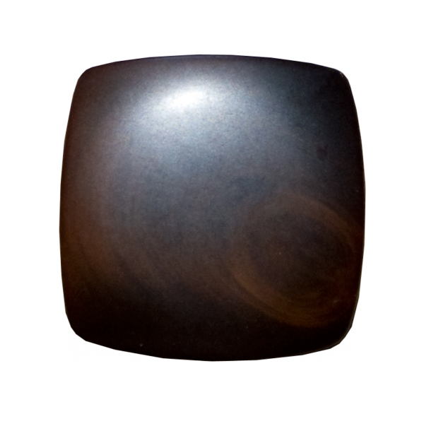 Knopf, braun, 30 mm