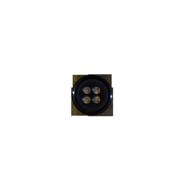schwarzer Wäscheknopf
